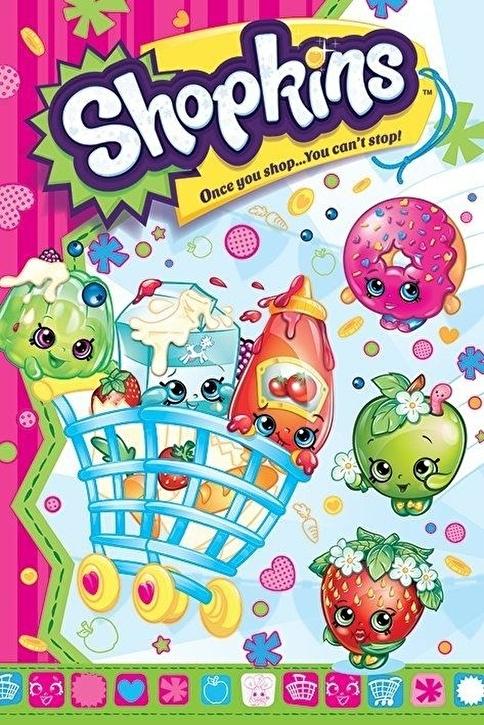 Pyramid International Maxi Poster - Shopkins Once You Shop Renkli